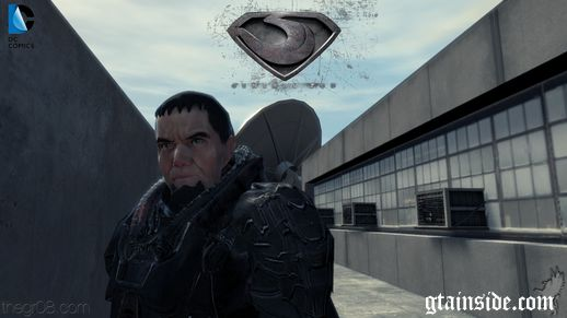 Man Of Steel General ZOD