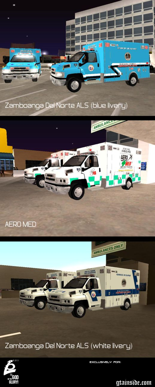Philippines Ambulance PACK 1 Chervolet