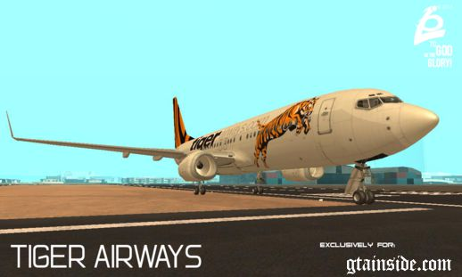 Boeing 737 800 TIGER AIRWAYS