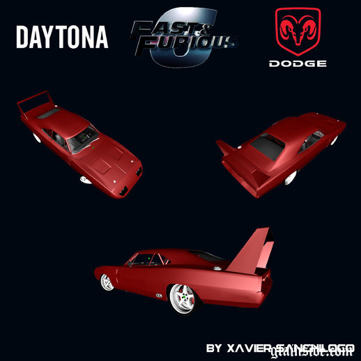Dodge Charger Daytona Fast & Furious 6