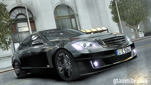 Mercedes-Benz Brabus SV12 R Biturbo 800 2011 Black Edition