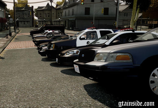 Los Angeles Police Department - Vehicle Pack ELS7