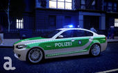BMW 5 Series F10 - Polizei - German Police (ELS7)