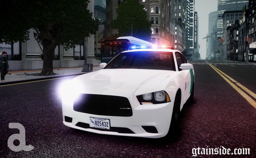 2012 Dodge Charger - US Border Patrol (ELS7)