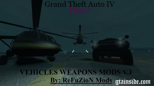 Vehicles Weapons Mods V.1