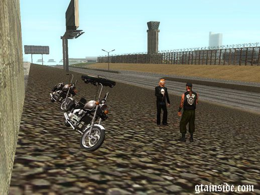 Realistic School Bikers v1.0
