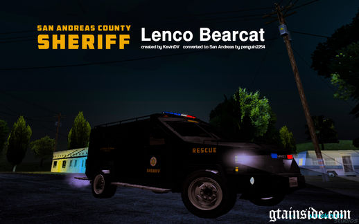 Lenco Bearcat (SA County Sheriff)