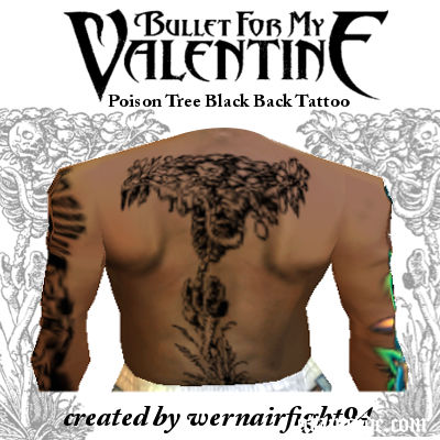 BFMV Poison Tree Black Back Tattoo
