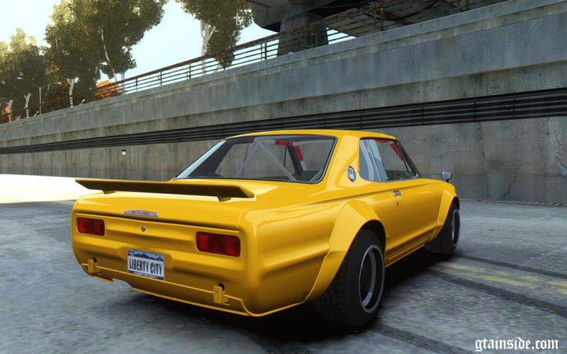 GTA 4 Nissan Skyline 2000GT-R C10 Speedhunters Mod ...
