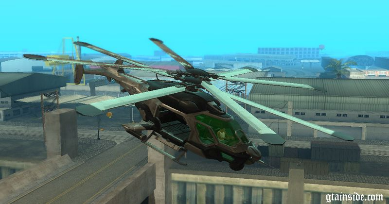 crysis 2 cell helicopter - Helicopter Mod