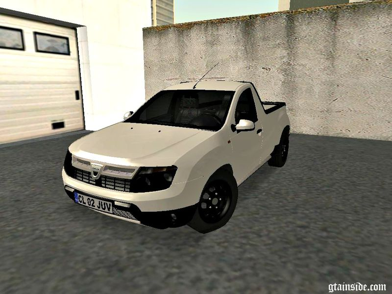 gta san andreas dacia duster pick up mod. Black Bedroom Furniture Sets. Home Design Ideas