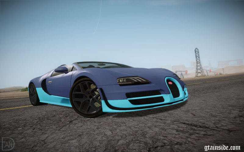gta san andreas bugatti veyron grand sport vitesse mod. Black Bedroom Furniture Sets. Home Design Ideas