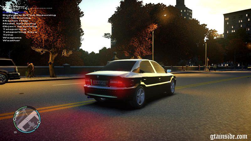 GTA 4 Iran Khodro Samand LX and Taxi Mod - GTAinside com