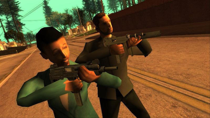 GTA San Andreas Left 4 Dead 2 Weapons Mod - GTAinside com