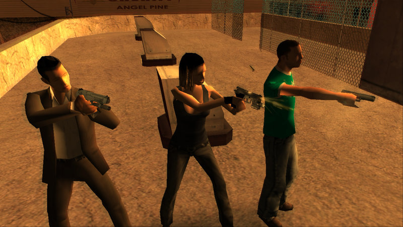 GTA San Andreas Left 4 Dead 2 Weapons Mod - GTAinside com