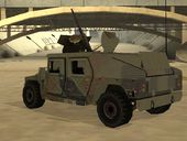 Humvee of Mexican Army