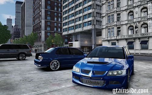 2004 Mitsubitsi Lancer MR Evolution VIII (Stock & Tuning)