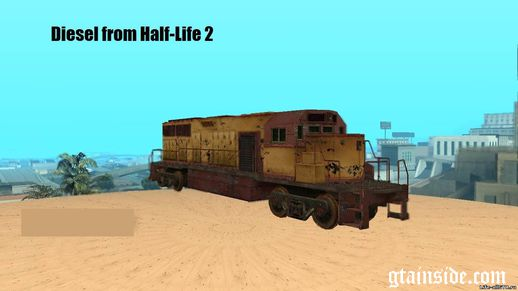 Diesel Train from HL2