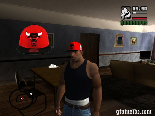 Gorra Chicago Bull NBA