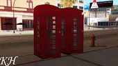 British Telephone Box