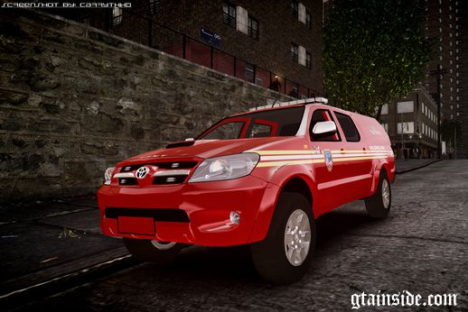 Toyota Hilux Police