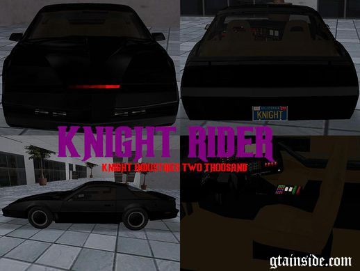 Pontiac Trans-Am - K.I.T.T. (Knight Industries Two Thousand)