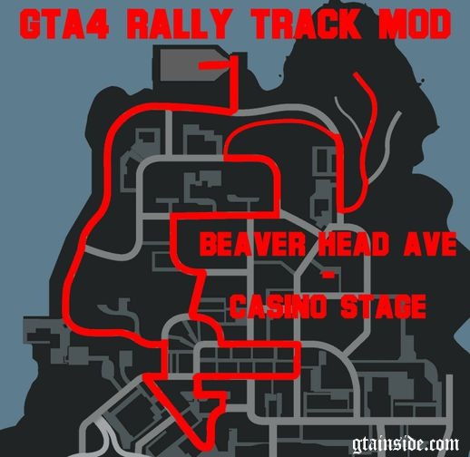 Rally Track Mod - Beaver Head Ave-Casino Stage