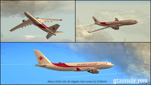 Airbus A330-202 Air Algerie New Livery
