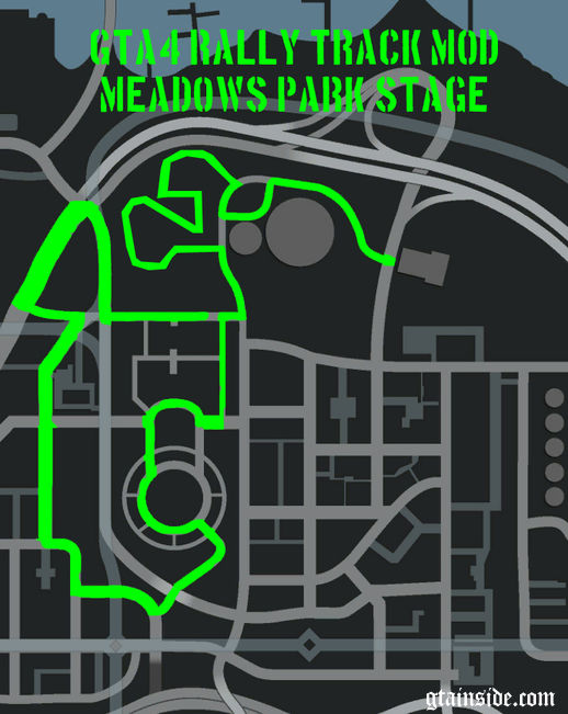 Rally Track Mod - Meadows Park Stage
