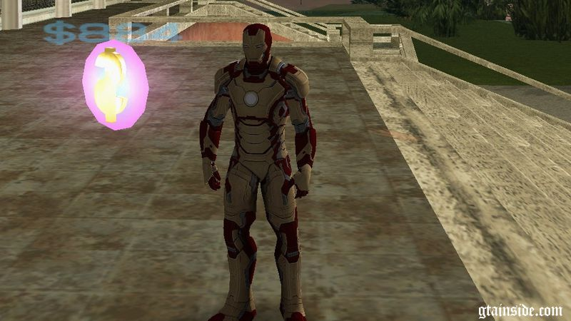 GTA Vice City Iron Man Mod - GTAinside com