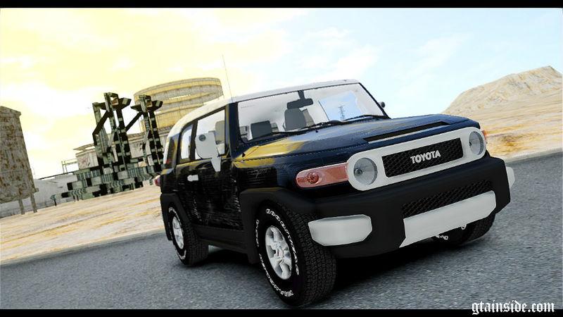 Gta 4 Toyota Fj Cruiser Mod Gtainside Com