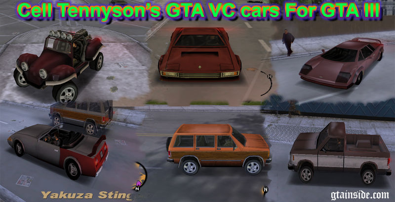 Gta 3 Gta Vc Cars For Gta Iii Mod