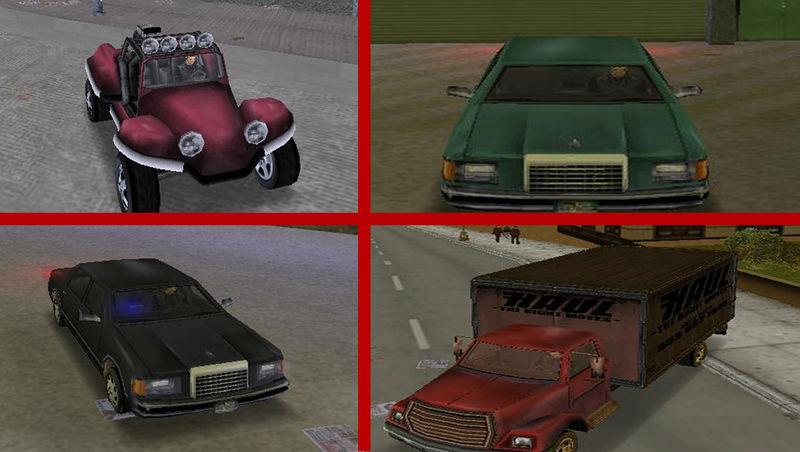 GTA 3 GTA VC Cars for GTA III Mod - GTAinside com