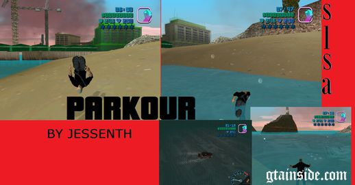 Swim Like San Andreas Mod + Parkour