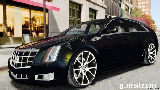 Cadillac CTS SW 2010