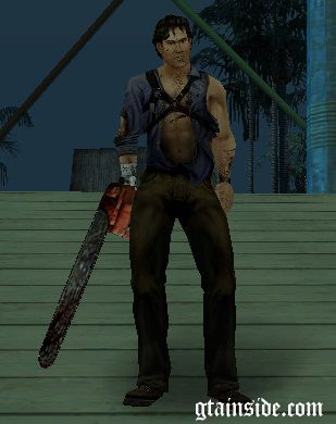 Ash Williams from Evil Dead Regeneration