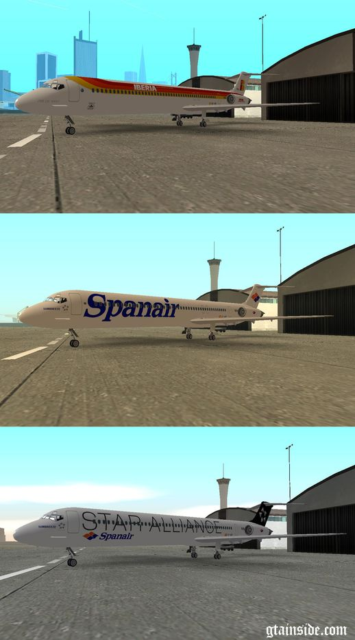 3 Liveries for McDonnell Douglas