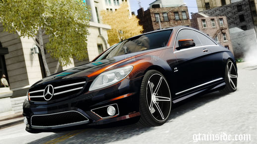 Mercedes-Benz CL65 AMG