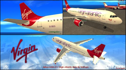 Airbus A320-211 Virgin Atlantic Beta