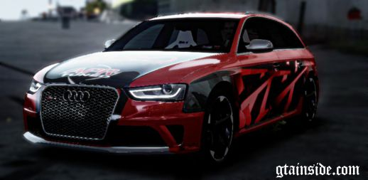 Audi RS4 APR Tuned Paintjob