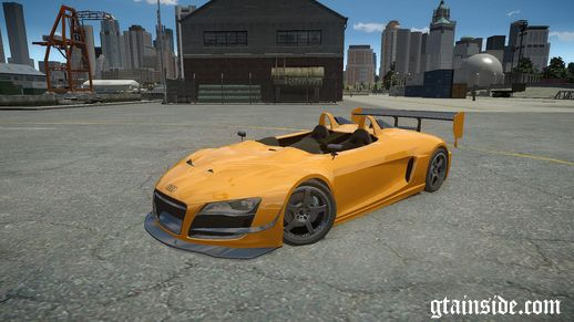 Audi Spider Body Kit Final (NFS SHIFT 2)