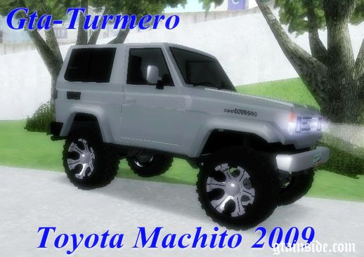 Toyota Machito Fj70 2009 Tuning