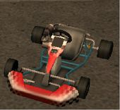 In The Beginning: Secret Go Kart
