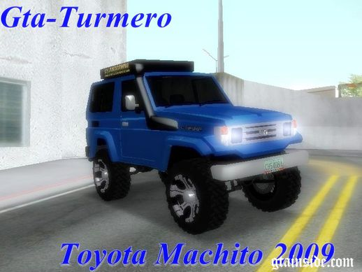 Toyota Machito 2009 Semi Off Road