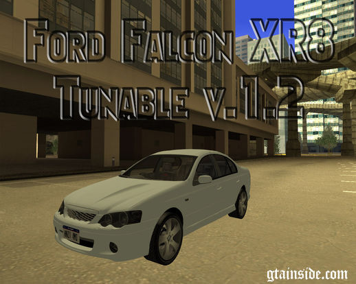2008 Ford Falcon XR8 Tunable V1.2
