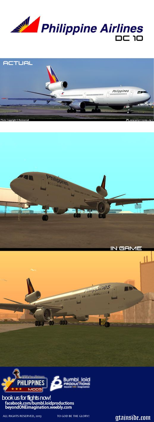 DC 10 PHILIPPINE AIRLINES
