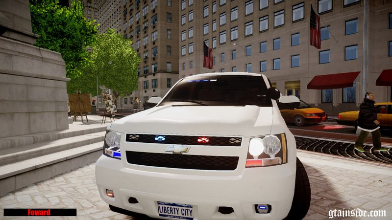 GTA 4 2008 Unmarked Chevy Tahoe Mod - GTAinside.com