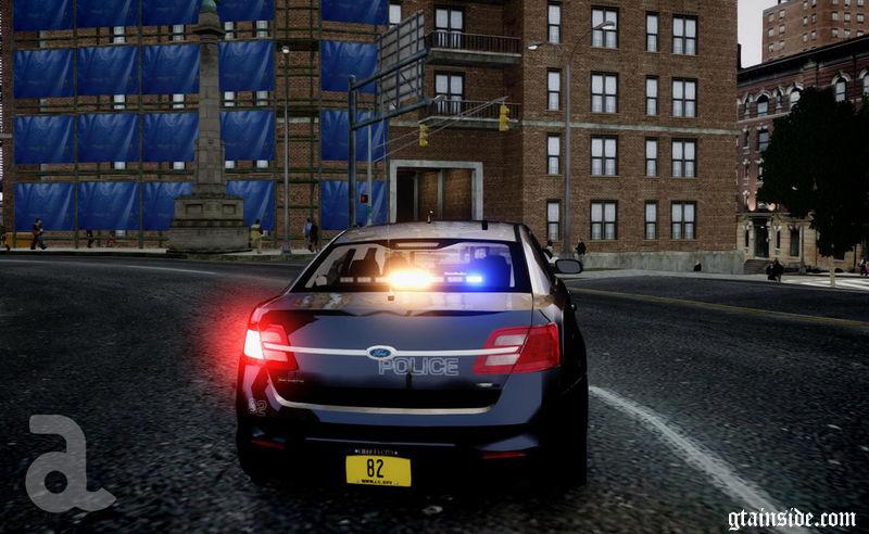 Gta 4 2013 Ford Police Interceptor Liberty City Police