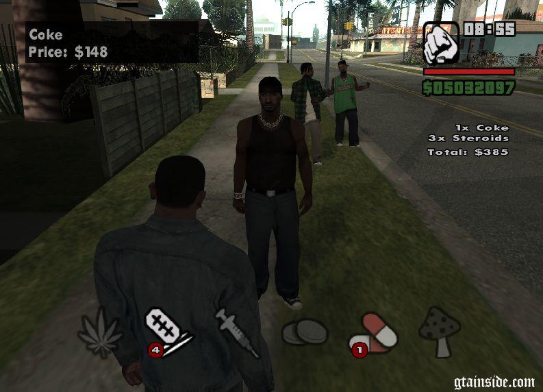drug dealer gta san
