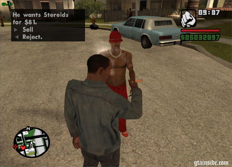 GTA San Andreas Black Market Mod - GTAinside com